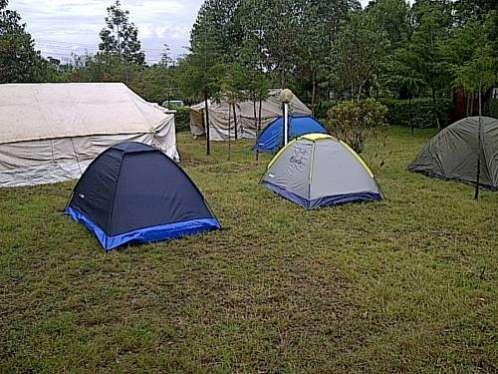 Campsite in Naivasha